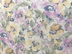 RALPH LAUREN Watercolor Pastel Floral Sheet Set, Queen Size