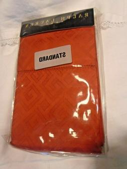 red harrogate standard pillowcases orig pkg nos