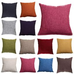 Home Colorful Throw Waist Pillow Cases Sofa Decor Square Cus