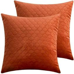 Rythome Set Of 2 Decorative Pattern Throw Pillow Cases, Comf