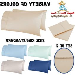 set of 2 pillow cases 400 thread