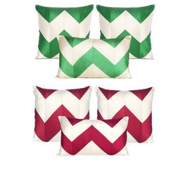 Set of 3 Cushion Cover Solid Pillow Slipcover Outdoor Indoor