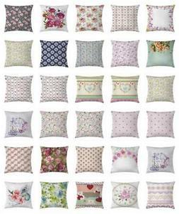 Shabby Chic Throw Pillow Cases Cushion Covers Home Decor 8 S