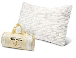 Clara Clark Shredded Memory Foam Pillow with a Luxury Design