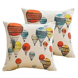 sykting Spring Throw Pillow Covers Set of 2 Decorative Cushi