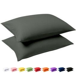 Ultra Soft Luxury Pillowcase Set of 2 King Size Brushed Micr
