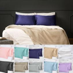 Soft Silky Satin Pillow Cases Great For Hair and Skin With E