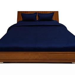 Super Quality Bed Sheets 100% Egyptian Cotton 3Peice-1Fitted