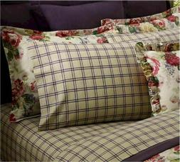 Ralph Lauren SURREY GARDEN Tattersal Set of 2 standard pillo