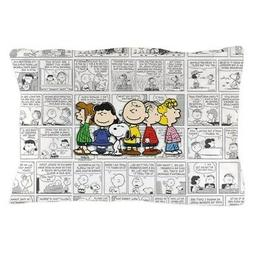 """CafePress The Peanuts Gang Standard Size Pillow Case, 20""""x30"""