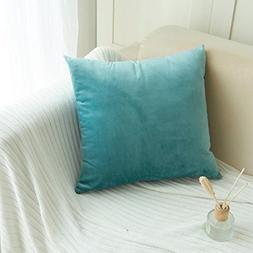 Iuhan Throw Pillow Case Cushion Cover, Fashion Velvet Pillow