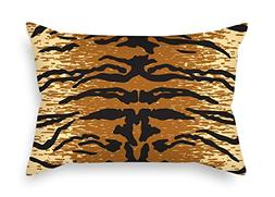 Throw Pillow Case Of Leopard For Study Room Couch Festival M