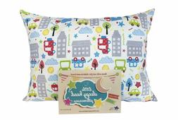 toddler pillowcase original collection cars 13 x