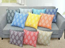 Trellis + Damask Pillow Cover Cushion Cover Pillow Cases 18