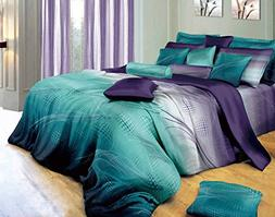 Swanson Beddings Twilight 5-Piece Luxury 100% Cotton Bedding