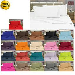 ULTRA SOFA 1500 THREAD COUNT PILLOW CASES ALL SIZES AND 12 C