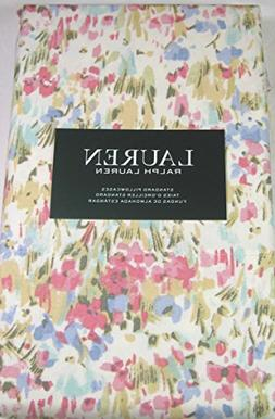 Lauren Standard Size Watercolor Abstract Floral Pillowcases