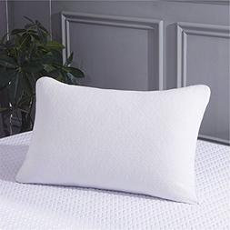 ZOOM White Pillow Case Standard Size - Air Layer 100% Polyes