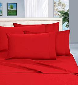 Elegant Comfort Wrinkle Resistant Luxury 6-Piece Bed Sheet S