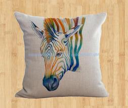 zebra animal cushion cover home decoration pillow cases for