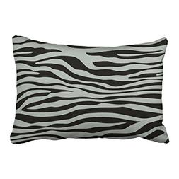 Shorping Zippered Pillow Covers Pillowcases 20X30 Inch ash G
